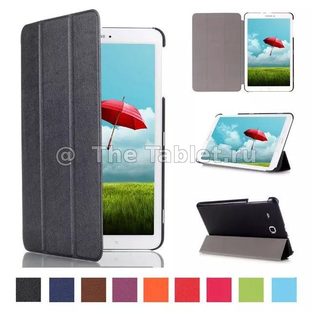 ����� ��� Samsung Galaxy Tab E 9.6 - skinBOX smart case clips