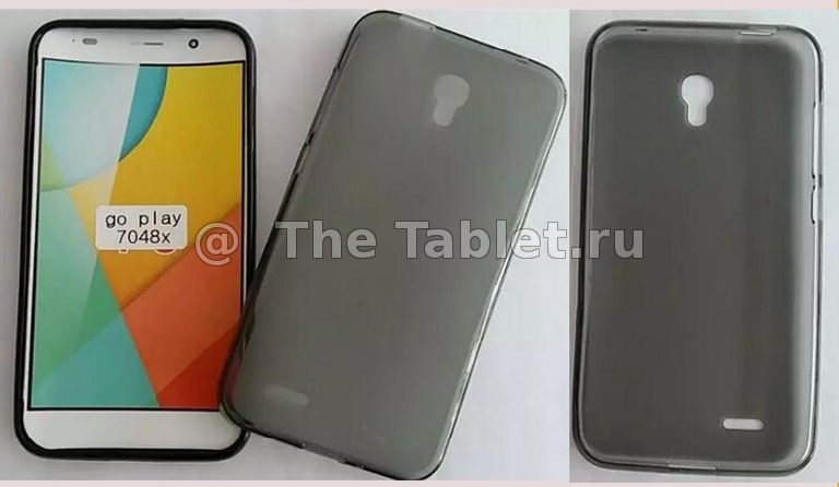 ����������� ����� ��� Alcatel OneTouch Go Play (7048X) - TPU Case �������