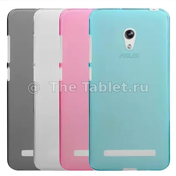 ����������� ����� ��� ASUS ZenFone 5 A502CG (ZenFone 5 Lite) - TPU Case �������